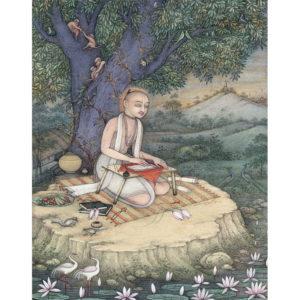 Krishnadasa Kaviraja Art Print